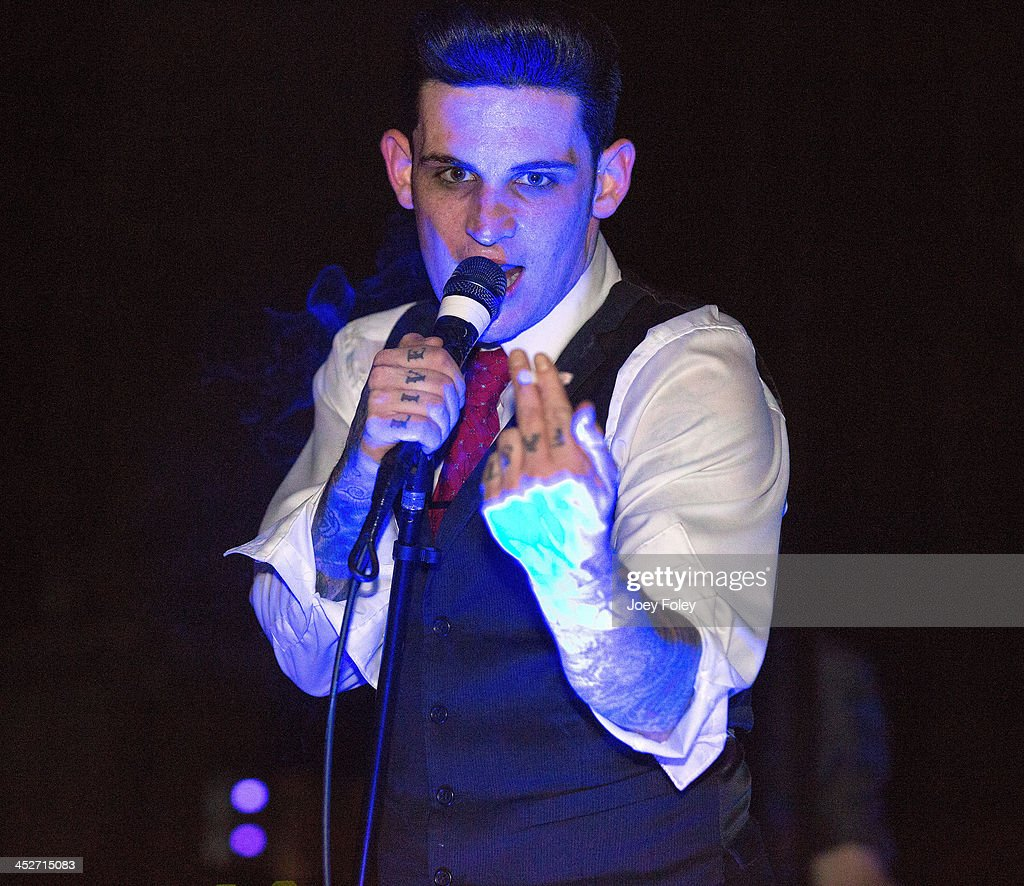 Wil Francis of William Control performs at The Emerson Theater on November 30, 2013 in Indianapolis, Indiana.