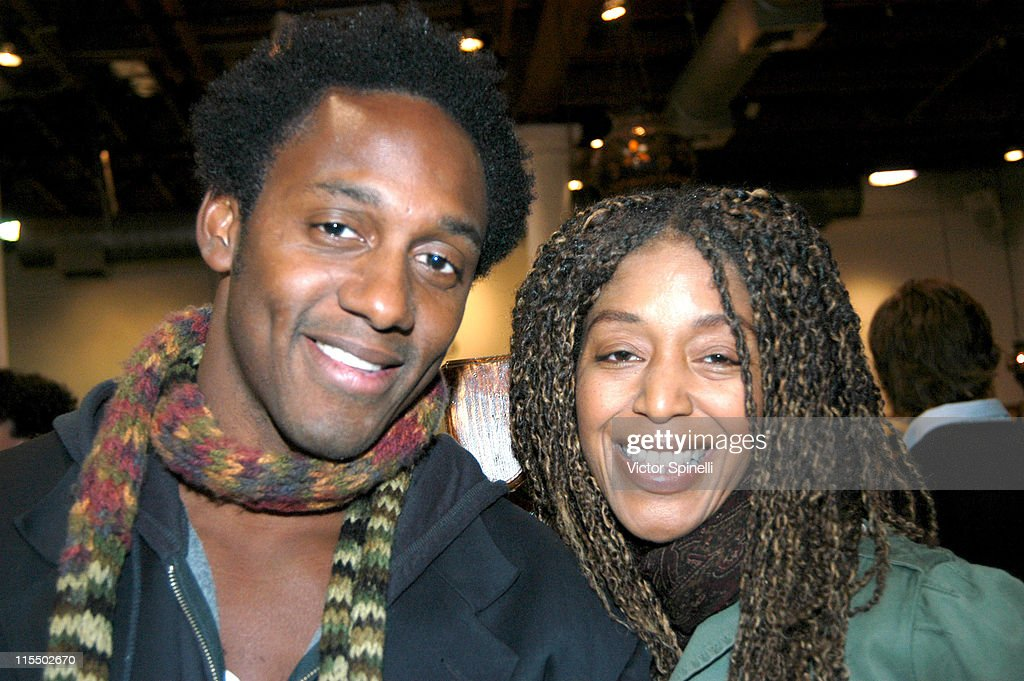Wil Young and Robi Reed during Diesel Party December 7 2004 at American Rag in Los Angeles California United States