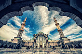 Backyard of the Wilayah Persekutuan mosque