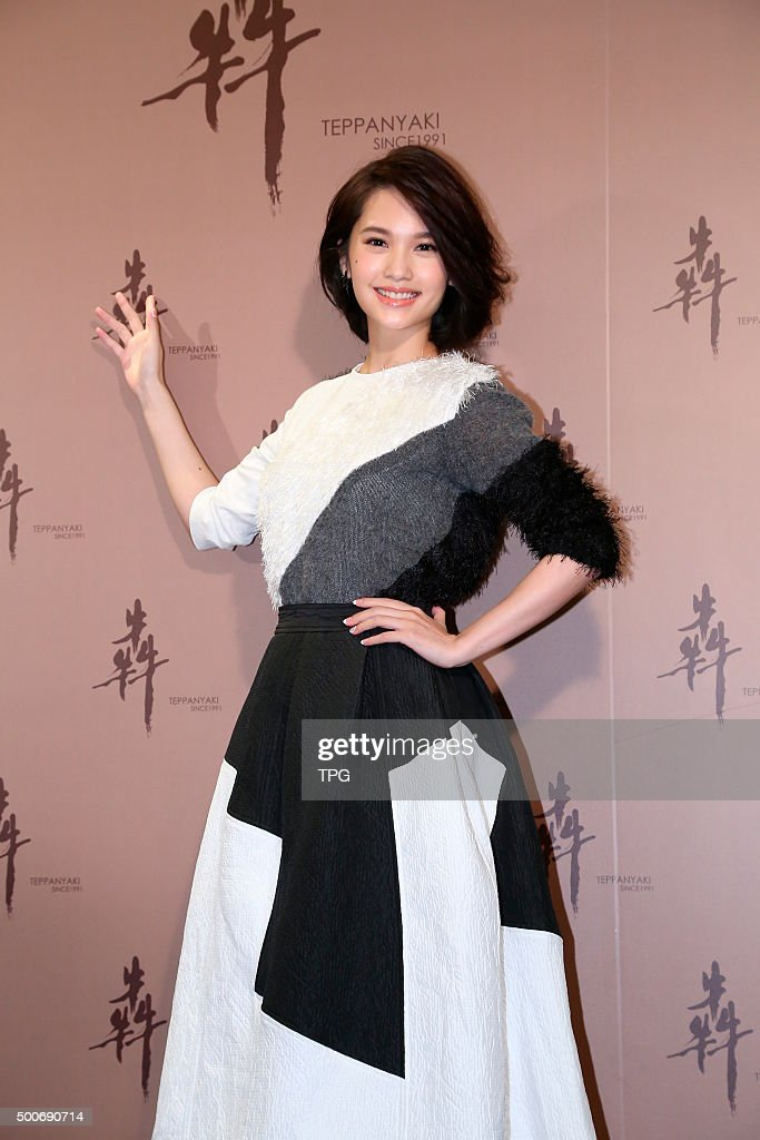 Wilber Pan and <a gi-track='captionPersonalityLinkClicked' href=/galleries/search?phrase=Rainie+Yang&family=editorial&specificpeople=574307 ng-click='$event.stopPropagation()'>Rainie Yang</a> attend the opening ceremony of a food store on 09th December, 2015 in Taipei, Taiwan, China.