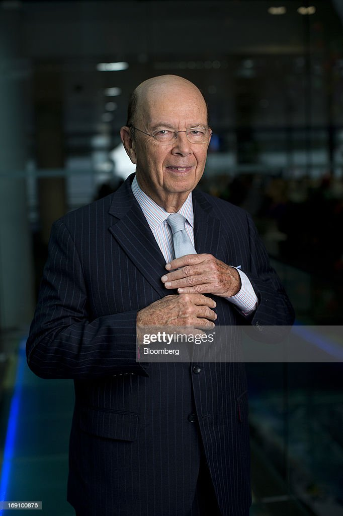Wilbur Ross, billionaire and chief executive officer of WL Ross & Co. LLC, poses for a photograph following a Bloomberg Television interview in London, U.K. on Monday, May 20, 2013. Ross said he intends to add to his shipping investments as slowing growth of the merchant fleet spurs an industry recovery as soon as next year. Photographer: Simon Dawson/Bloomberg via Getty Images