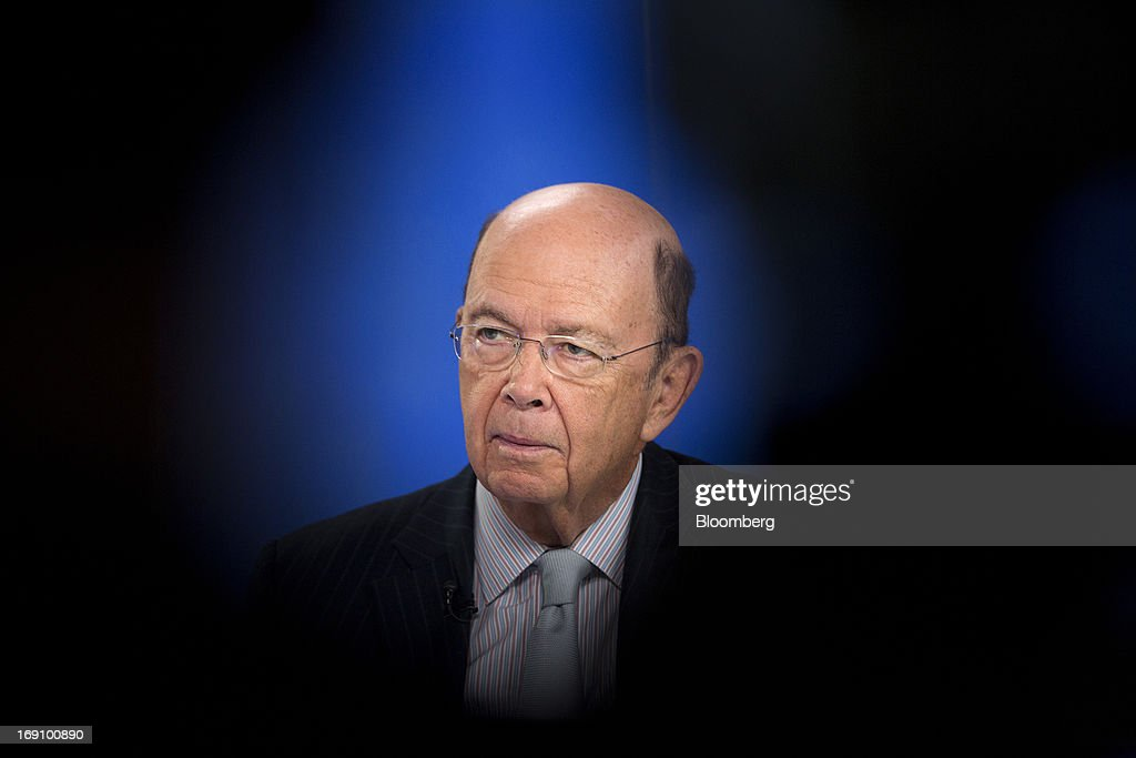 Wilbur Ross, billionaire and chief executive officer of WL Ross & Co. LLC, pauses during a Bloomberg Television interview in London, U.K. on Monday, May 20, 2013. Ross said he intends to add to his shipping investments as slowing growth of the merchant fleet spurs an industry recovery as soon as next year. Photographer: Simon Dawson/Bloomberg via Getty Images