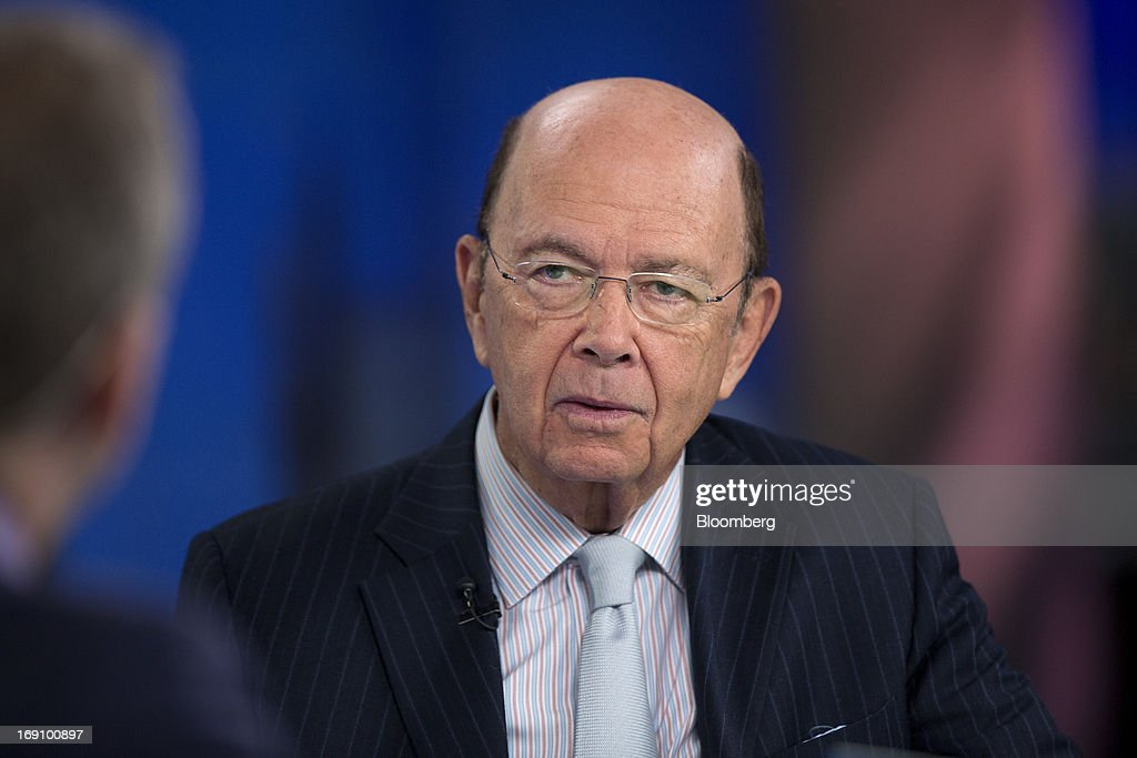 Wilbur Ross, billionaire and chief executive officer of WL Ross & Co. LLC, speaks during a Bloomberg Television interview in London, U.K. on Monday, May 20, 2013. Ross said he intends to add to his shipping investments as slowing growth of the merchant fleet spurs an industry recovery as soon as next year. Photographer: Simon Dawson/Bloomberg via Getty Images