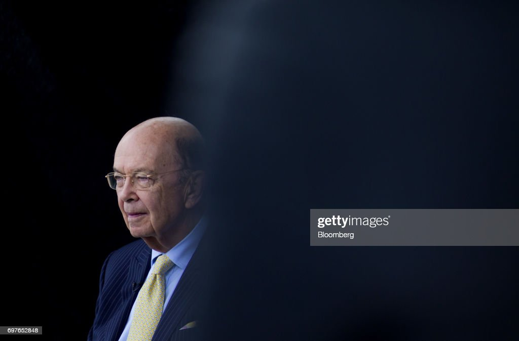 Wilbur Ross, U.S. commerce secretary, arrives at the SelectUSA Investment Summit in Oxon Hill, Maryland, U.S., on Monday, June 19, 2017. The SelectUSA Investment Summit brings together companies from all over the world, economic development organizations from every corner of the nation and other parties working to facilitate foreign direct investment (FDI) in the United States. Photographer: Eric Thayer/Bloomberg via Getty Images