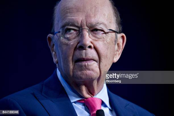 Wilbur Ross US commerce secretary listens to a question during a Washington Post event in Washington DC US on Friday Sept 8 2017 Ross reiterated the...