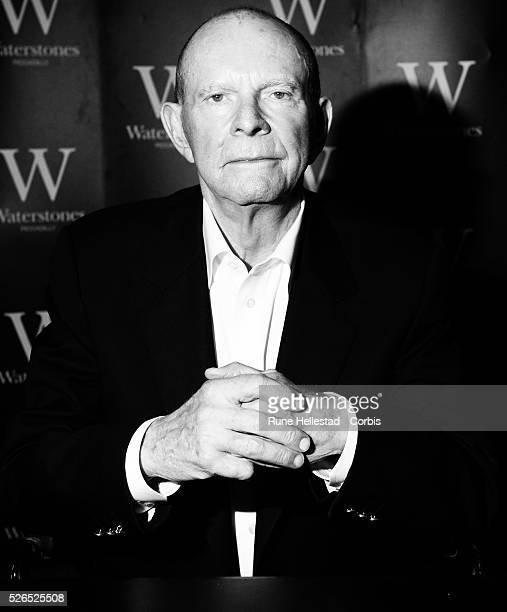 Wilbur Smith attends a book signing at Waterstone's Piccadilly