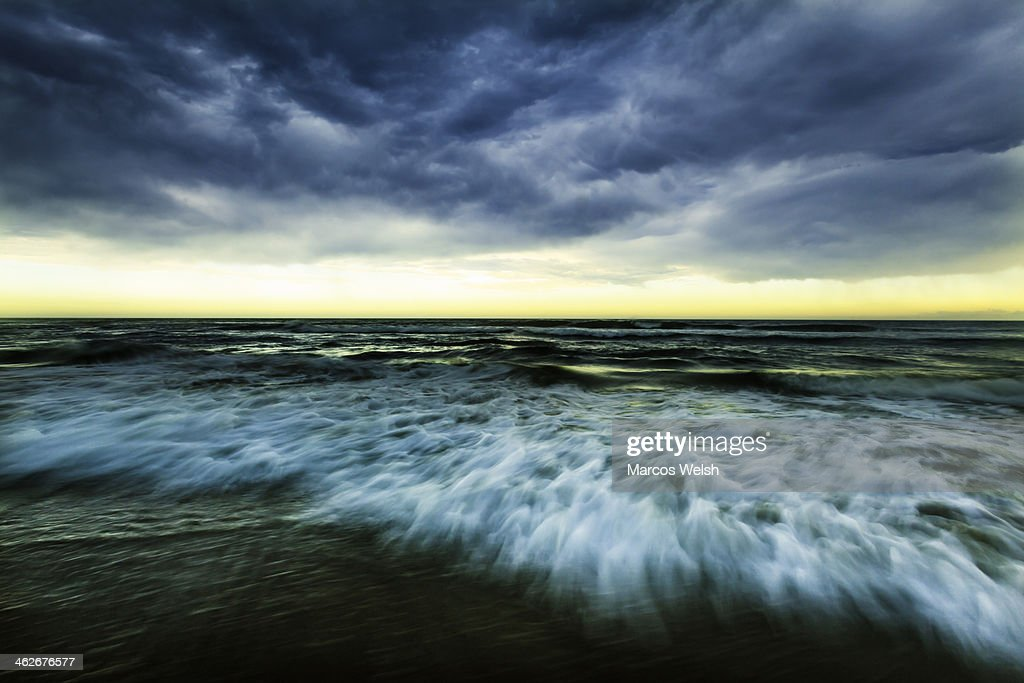 Wild beach in Ballina, New South Wales, Australia : Stock Photo
