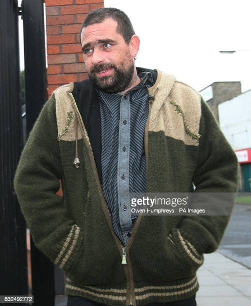 Wild bird eggs collector Wayne Derbyshire arrives at Bedlington magistrates court in Northumberland today to face an application by police to...
