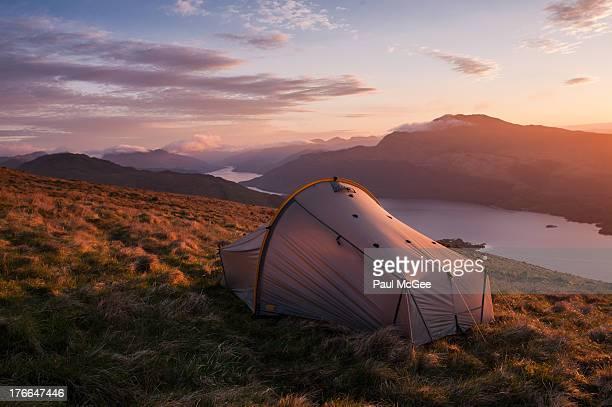 Wild Camping Sunrise