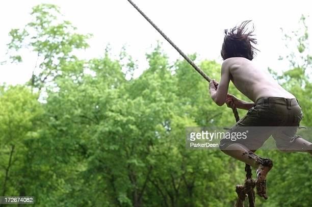 Wild Rope Swing Jump
