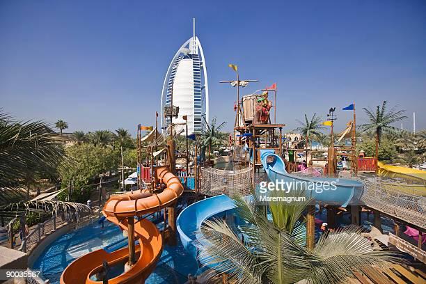 Wild Wadi Water Park and Burj al Arab