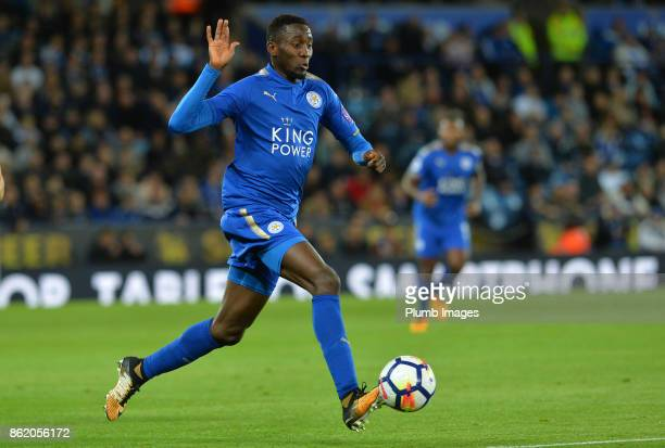 Wilfred Ndidi of Leicester City during the Premier League match between Leicester City and West Bromwich Albion at King Power Stadium on October 16th...