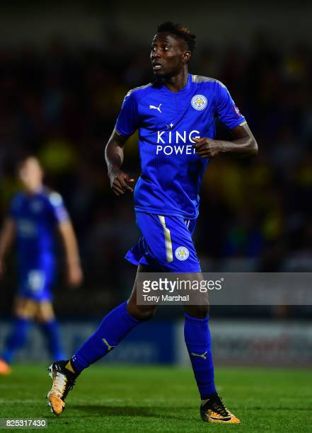 Wilfred Ndidi of Leicester City during the PreSeason Friendly match between Burton Albion v Leicester City at Pirelli Stadium on August 1 2017 in...