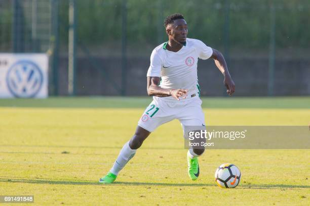 Wilfred Ndidi of Nigeria during the soccer friendly match between Nigeria and Togo on June 1 2017 in St LeulaForet France