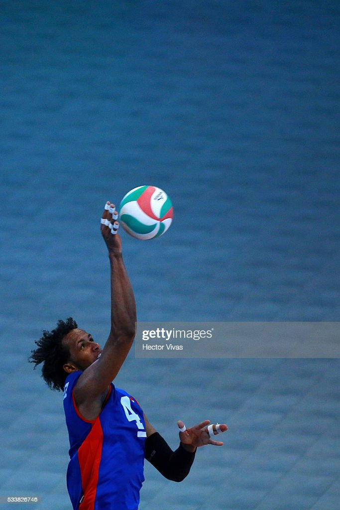 Hernandez Dominican Republic Volleyball >> XI Pan-American Cup - Mexico City 2016 | Getty Images