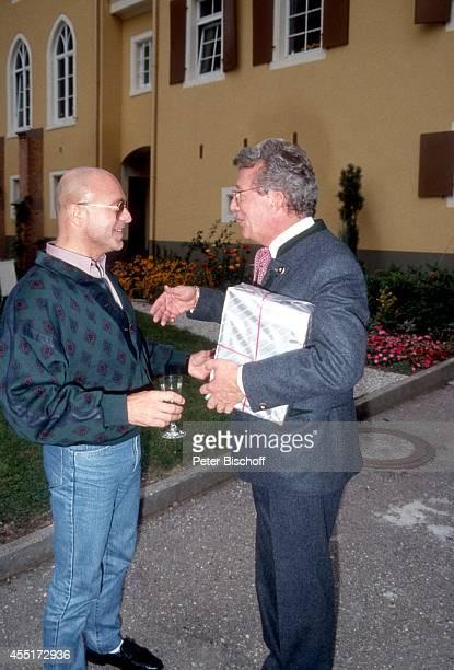 Wilfried Baasner Dieter Thomas Heck Schlossfest 1987 am im Schloß Aubach bei BadenBaden Deutschland