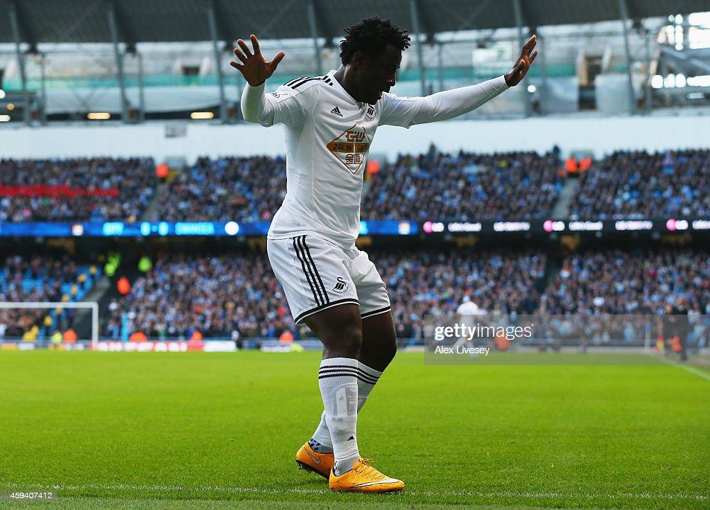 Manchester City v Swansea City - Premier League