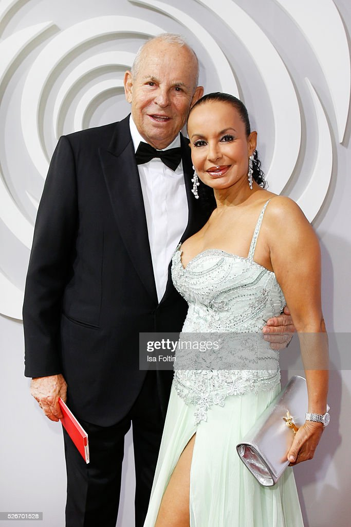 Wilfried Sauerland and his wife Jochi Sauerland attend the Rosenball 2016 on April 30, 2016 in Berlin, Germany.