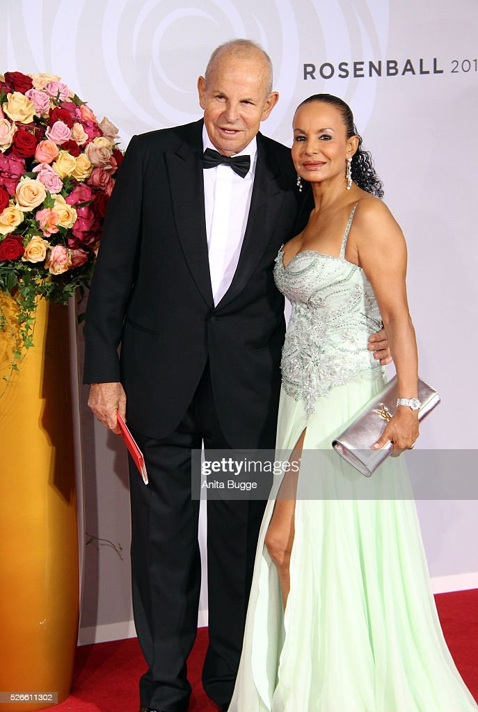 Wilfried Sauerland and Jochi Sauerland attend the charity event 'Rosenball' at Hotel Intercontinental on April 30, 2016 in Berlin, Germany.