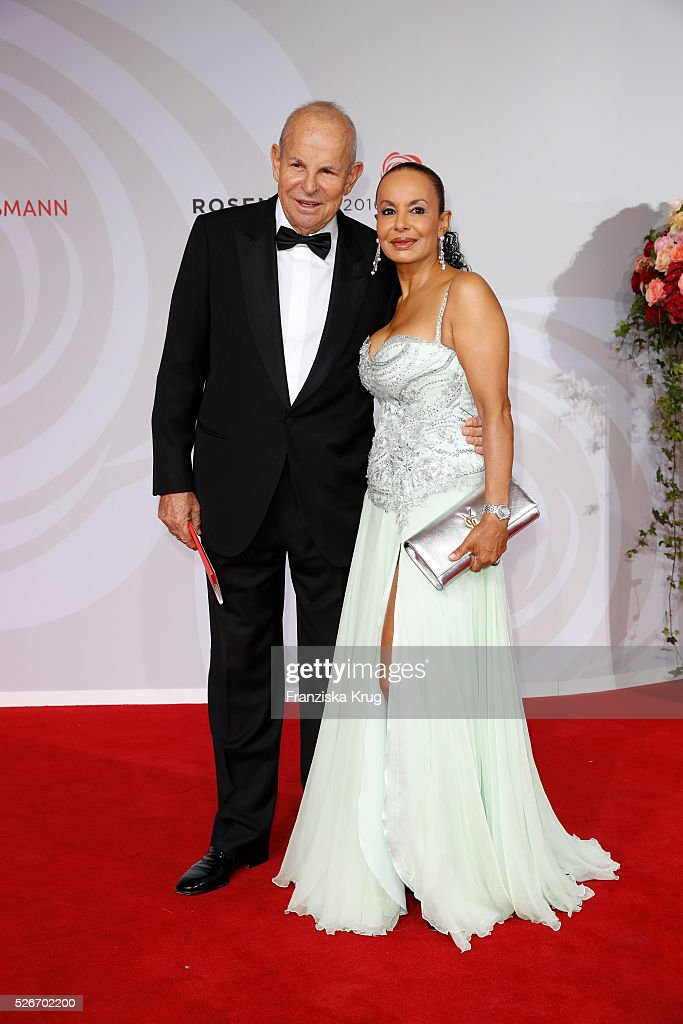 Wilfried Sauerland and Jochi Sauerland attend the Rosenball 2016 on April 30 in Berlin, Germany.