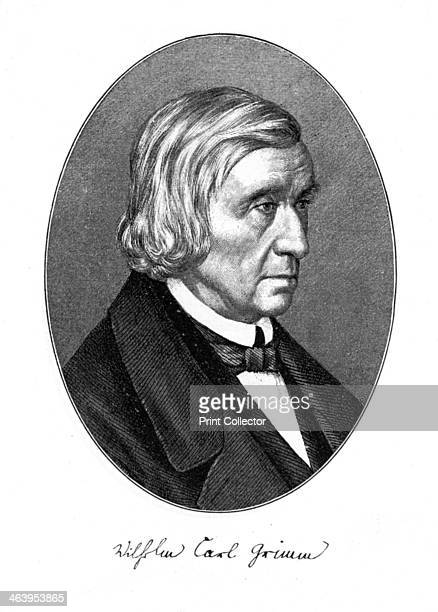 Wilhelm Carl Grimm German author 1887 Grimm one of the Brothers Grimm famous for their fairy tales and work in linguistics