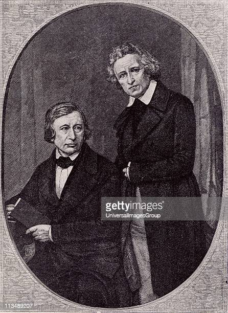Wilhelm Carl Grimm left and Jacob Ludwig Carl Grimm right German philologists and folklorists The English speaking world knows them best for their...