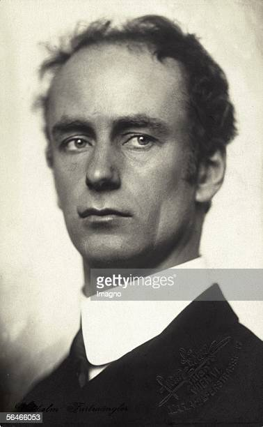 Wilhelm Furtwaengler German conductor Photography by Franz Loewy Around 1920 [Wilhelm Furtwaengler deutscher Dirigent Photographie von Franz Loewy Um...