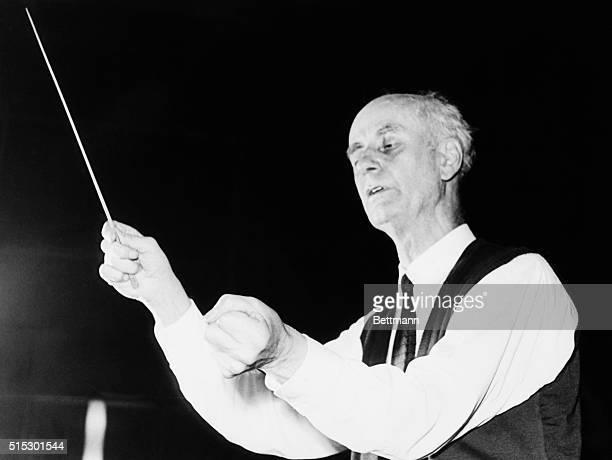 Wilhelm Furtwangler German opera conductor Photograph ca 1940s1950s