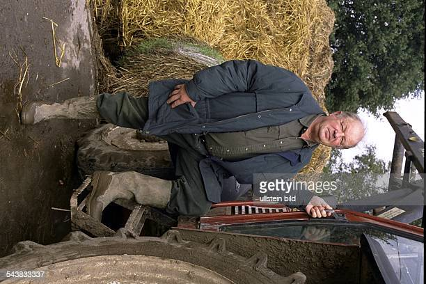 Wilhelm Grimm Verbandspräsident D Vorsitzender des Hamburger Bauernverbandes Bauernpräsident Einzelaufnahme
