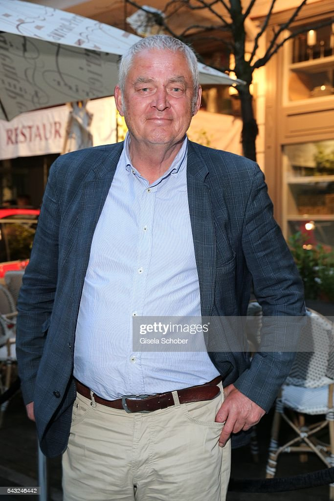 Wilhelm Manske during the Peugeot BVC Casting Night during the Munich Film Festival 2016 at Kaeferschaenke on June 26, 2016 in Munich, Germany.