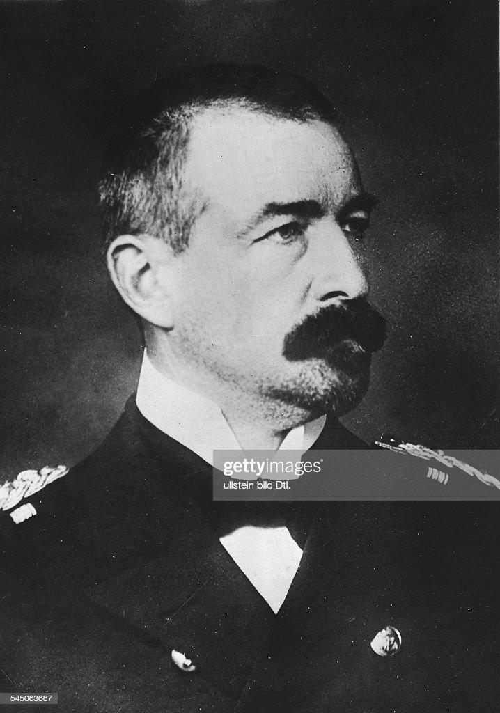 Wilhelm Souchon*02061864Admiral Commander of the battlecruiser 'Goeben' GermanyCommanderinChief of the Ottoman navy in the First World Warportrait...