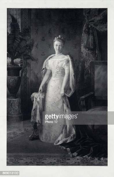 Wilhelmina Queen of the Netherlands 1900