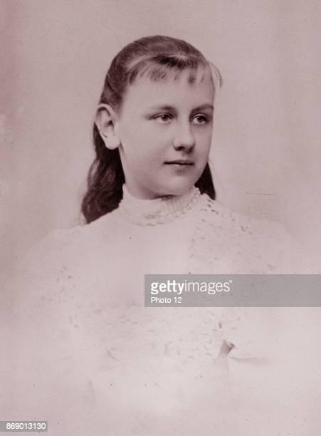 Wilhelmina Queen of the Netherlands as a girl 1897