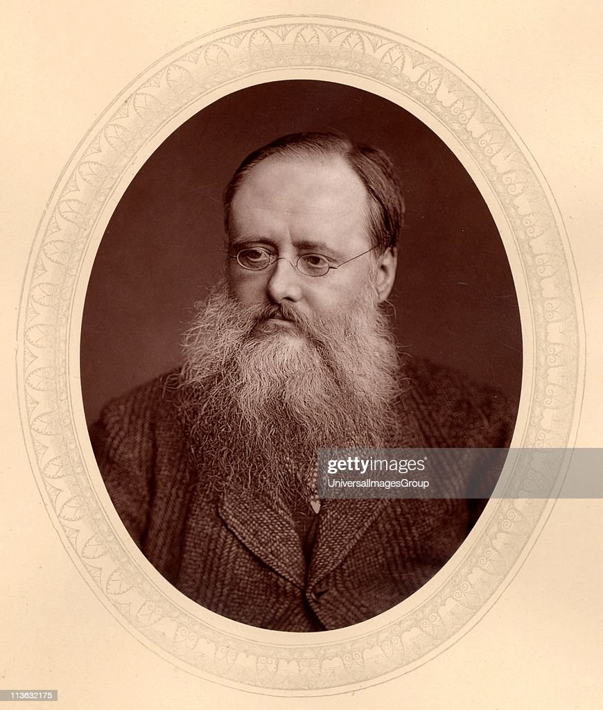 Wilkie Collins (1824-1889), English novelist. Author of sensation novels of mystery and suspense including The Woman in White (1860) and The Moonstone (1868). From Men of Mark by Thompson Cooper (London, c1880). Woodburytype after photograph by Lock & Whitfield (active 1860s-1880s), English photographers.