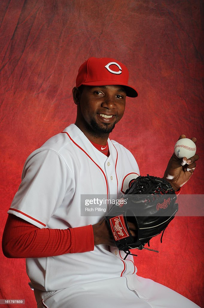Wilkin De La Rosa #79 of the Cincinnati Reds poses during MLB photo day on February 16, 2013 at the Goodyear Ballpark in Goodyear, Arizona.