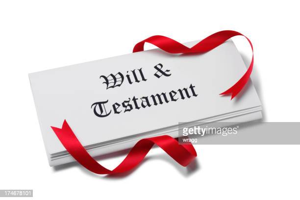 Will and Testament Papers