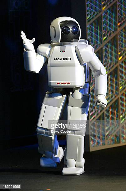 will appears at the Ontario Science Centre in Toronto for the first time as part of the 'Say Hello to ASIMO' North American Educational Tour a...