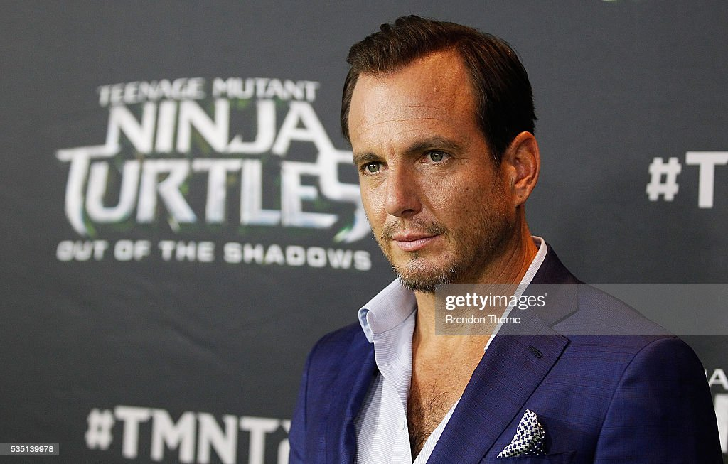 <a gi-track='captionPersonalityLinkClicked' href=/galleries/search?phrase=Will+Arnett&family=editorial&specificpeople=209259 ng-click='$event.stopPropagation()'>Will Arnett</a> arrives ahead of the Australian premiere of Teenage Mutant Ninja Turtles 2 at Event Cinemas George Street on May 29, 2016 in Sydney, Australia.
