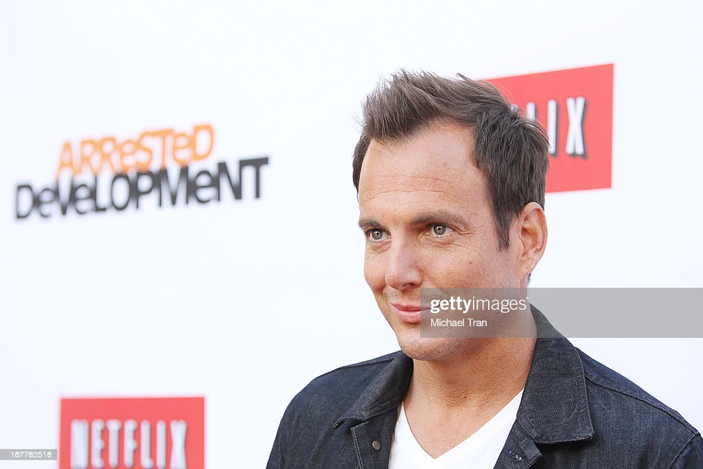 <a gi-track='captionPersonalityLinkClicked' href=/galleries/search?phrase=Will+Arnett&family=editorial&specificpeople=209259 ng-click='$event.stopPropagation()'>Will Arnett</a> arrives at Netflix's Los Angeles premiere of 'Arrested Development' season 4 held at TCL Chinese Theatre on April 29, 2013 in Hollywood, California.