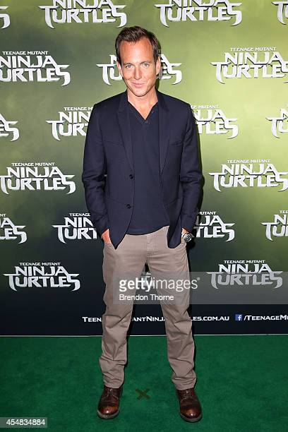 Will Arnett arrives at the Sydney Special Event Screening of 'Teenage Mutant Ninja Turtles' at The Entertainment Quarter on September 7 2014 in...