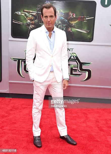Will Arnett arrives at the 'Teenage Mutant Ninja Turtles' at Regency Village Theatre on August 3 2014 in Westwood California