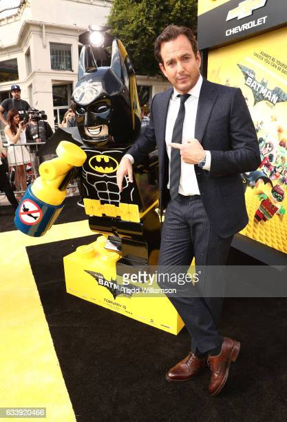 Will Arnett attends the premiere Of Warner Bros Pictures' 'The LEGO Batman Movie' at Regency Village Theatre on February 4 2017 in Westwood California