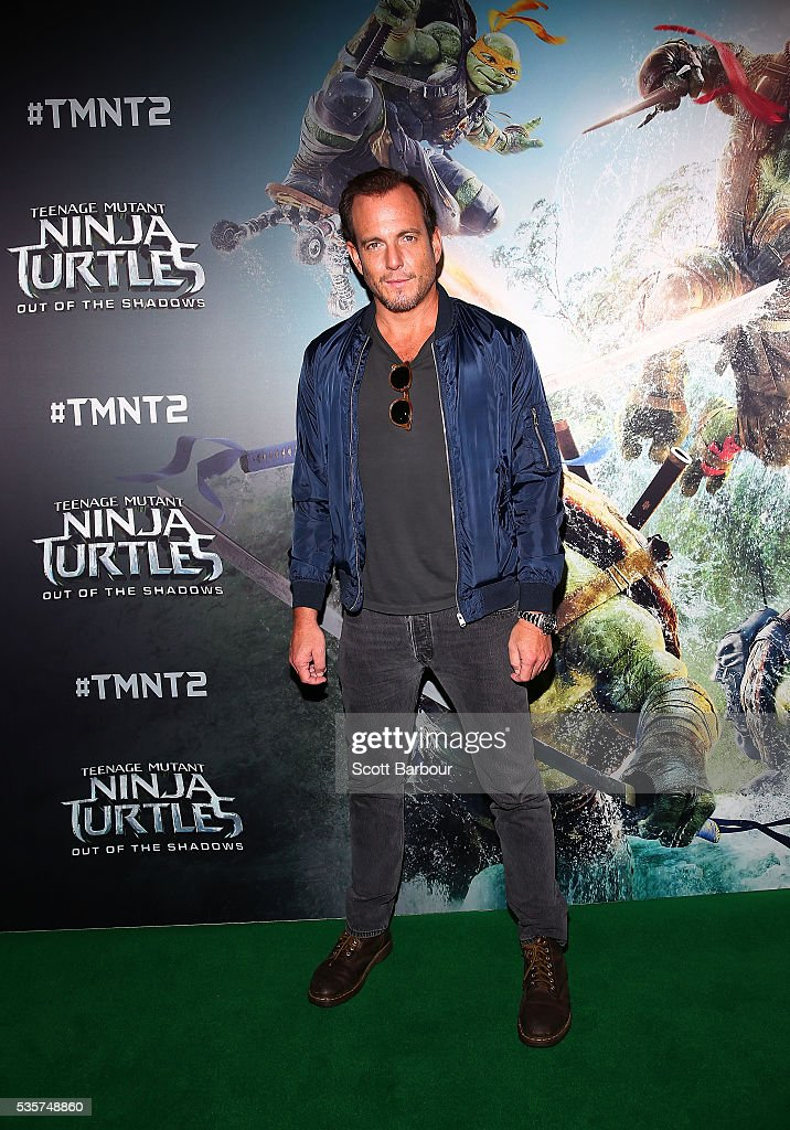 <a gi-track='captionPersonalityLinkClicked' href=/galleries/search?phrase=Will+Arnett&family=editorial&specificpeople=209259 ng-click='$event.stopPropagation()'>Will Arnett</a> attends the Teenage Mutant Ninja Turtles: Out of the Shadows fan screening at Village Cinemas Jam Factory on May 30, 2016 in Melbourne, Australia.