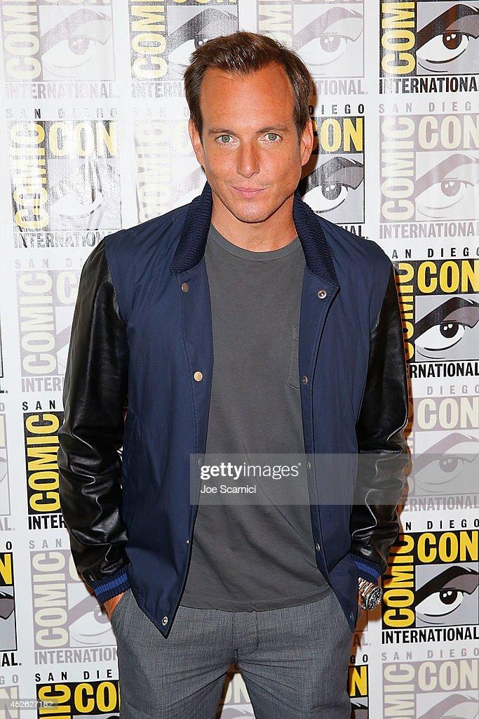 Will Arnett attends the 'Teenage Mutant Ninja Turtles' press line at Comic-Con International 2014 - Day 1 on July 24, 2014 in San Diego, California.
