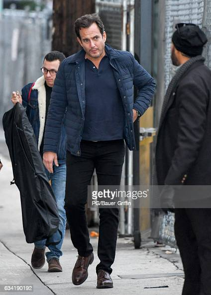 Will Arnett is seen at Jimmy Kimmel Live on February 07 2017 in Los Angeles California