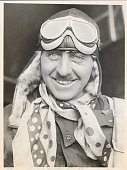 Will Attempt Solo Endurance Record Flier Who Finished Second in Dole Race Expects to Stay Up at Least 40 Hours Roosevelt Field Long Island Photo...