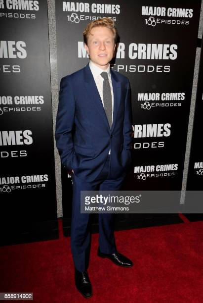 Will Attenborough at TNT's 'Major Crimes' 100th episode celebration at 71Above on October 7 2017 in Los Angeles California