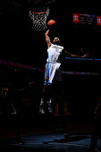 Will Barton of the Denver Nuggets dunks the ball against the Los Angeles Lakers on April 8 2015 at the Pepsi Center in Denver Colorado NOTE TO USER...