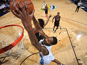 Will Barton of the Denver Nuggets dunks the ball against the Toronto Raptors on February 1 2016 at the Pepsi Center in Denver Colorado NOTE TO USER...