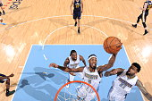Will Barton of the Denver Nuggets grabs the rebound against the Utah Jazz during the game on March 27 2015 at Pepsi Center in Denver Colorado NOTE TO...